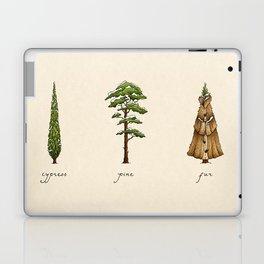 Fur Tree Laptop & iPad Skin