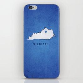 Kentucky Wildcats iPhone Skin