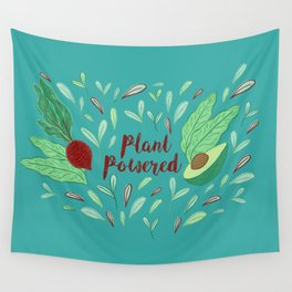 Plant Powered Wall Tapestry