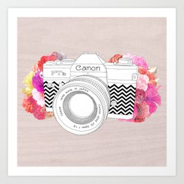 BLOOMING CAN0N Art Print