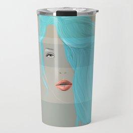 Emo Girl-Grey Travel Mug