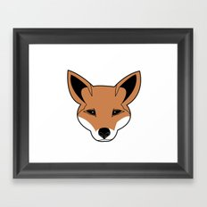 Fox the Fox Framed Art Print