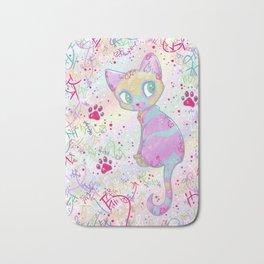 Mystical Little Kitty Bath Mat