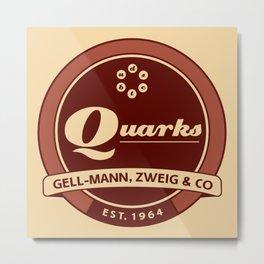 Quarks Vintage Logo Metal Print