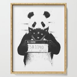 Bad panda Serving Tray