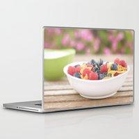 breakfast Laptop & iPad Skins featuring Breakfast by Yolanda Méndez