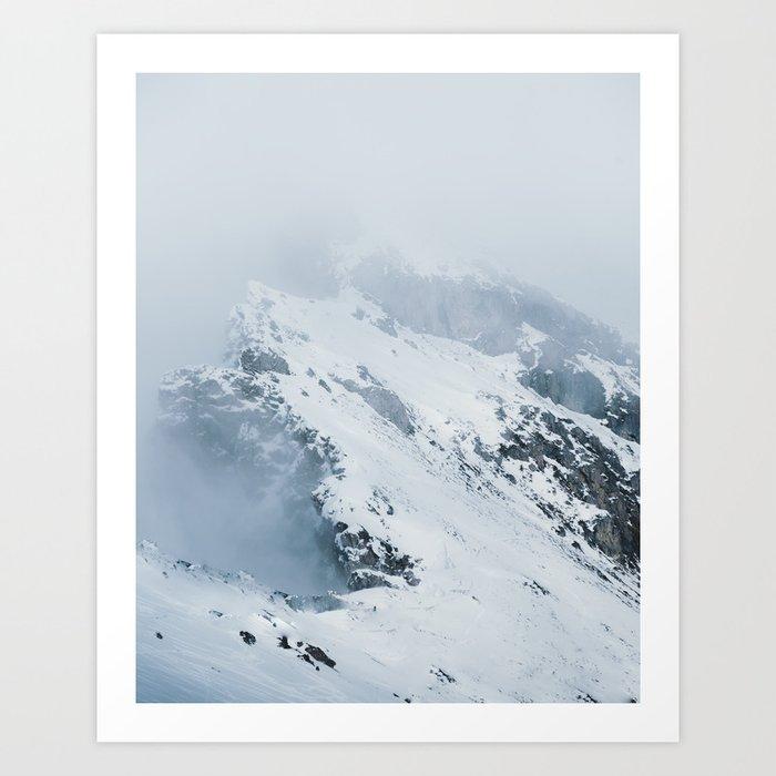 Old Mountain - Minimalist Landscape Photography Kunstdrucke