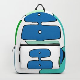WALK THS CITY IN YOUR SHOES Backpack