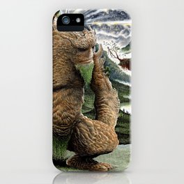 The Earth Golem iPhone Case