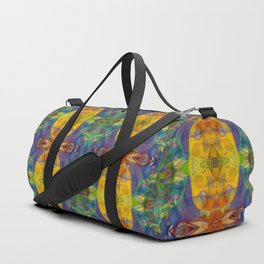 Blue Rainbow Duffle Bag