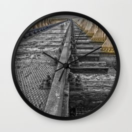 Abounded railroad  Wall Clock