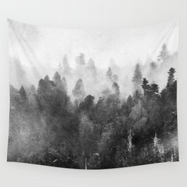Forest Melody - Redwood National Park Wall Tapestry