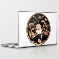 jfk Laptop & iPad Skins featuring Forever Marilyn Monroe  by Chess Ordinary
