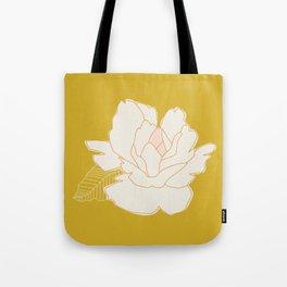 Outline Floral No. 1 Tote Bag