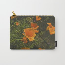 California Poppies 001 Carry-All Pouch