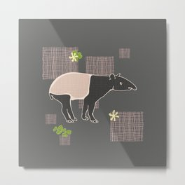 Tapir variations Metal Print