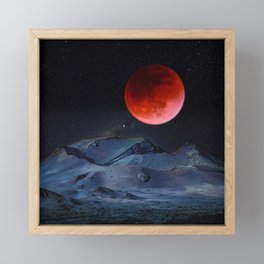 Blood Moon Framed Mini Art Print