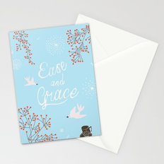 'Ease and Grace' Stationery Cards