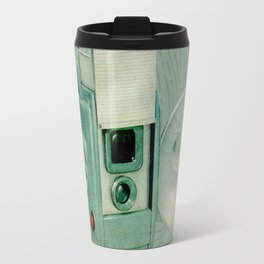 Teal Cameras Travel Mug