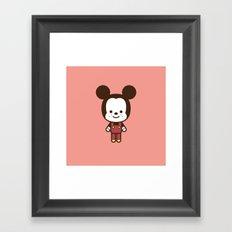 #49 Mouse Framed Art Print