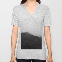 Foggy Mountains Unisex V-Neck