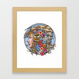 Beatrix Bee Queen by Bobbie Berendson W Framed Art Print
