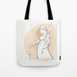 Saint Distaff's Day Tote Bag