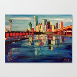 Expression Dallas Canvas Print