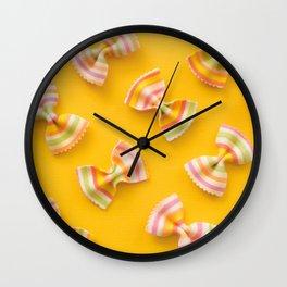 Pasta Party Wall Clock