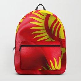 Kyrgyzstan Flag Backpack