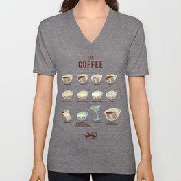 Italians Do It Different - The Coffee Unisex V-Neck