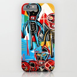One in crowd iPhone Case