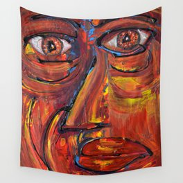 Face Wall Tapestry