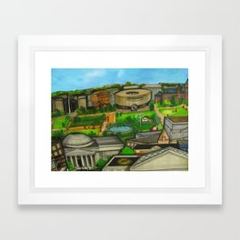 The National Mall  Framed Art Print