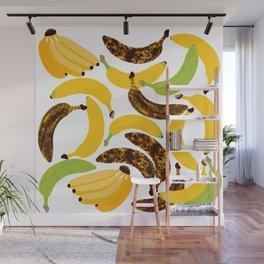 Banana Harvest Wall Mural