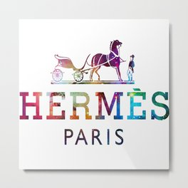 paris Logo galaxy Metal Print