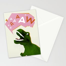 Dinosaur Raw! Stationery Cards