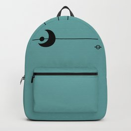 Waxing Moon with Little Planets Backpack