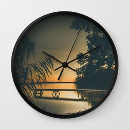 My own summer Wall Clock