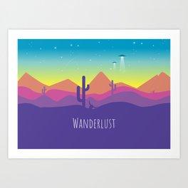 Wanderlust 1 Art Print