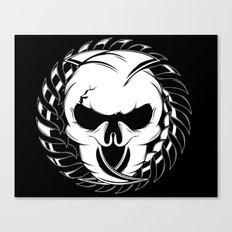 Skull Head Two Canvas Print