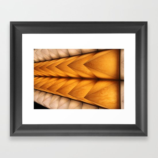 Kyoto spikes Framed Art Print