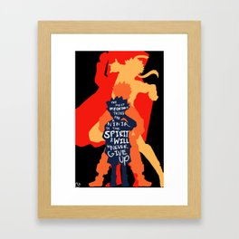 arigatou naruto (color set 2) Framed Art Print