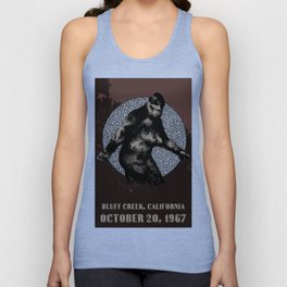 BIGFOOT, Bluff Creek 1967 Unisex Tank Top