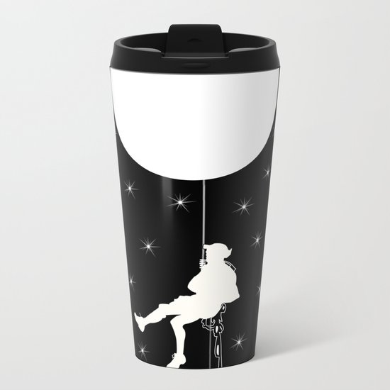 Moon Metal Travel Mug