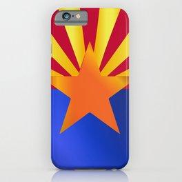 Arizona State Flag Gloss iPhone Case