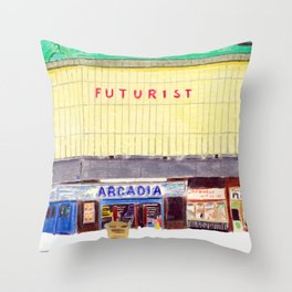 THE FUTURIST Throw Pillow