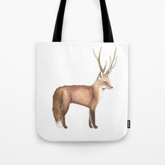 The Disguise: A Fox Tote Bag