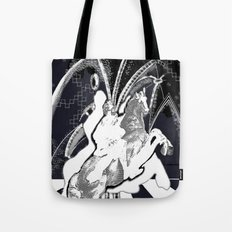 ghost rider shadow Tote Bag