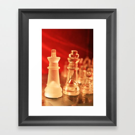 Chess1 Framed Art Print